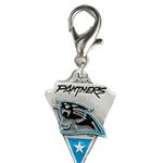 View Image 1 of Carolina Panthers Pennant Dog Collar Charm