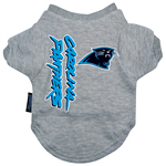 View Image 1 of Carolina Panthers Dog T-Shirt