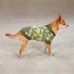 View Image 3 of Carolina Pullover Dog Hoodie - Green