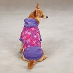 View Image 1 of Carolina Pullover Dog Hoodie - Raspberry