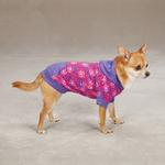 View Image 3 of Carolina Pullover Dog Hoodie - Raspberry