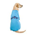View Image 1 of Casual Canine Adopt Dog T-Shirt - Blue