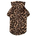 View Image 1 of Casual Canine Animal Print Dog Cuddler - Leopard