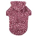 View Image 1 of Casual Canine Animal Print Dog Cuddler - Pink Leopard
