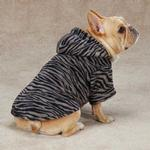 Casual Canine Animal Print Dog Cuddler - Zebra