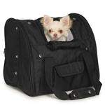 View Image 1 of Casual Canine Backpack Pet Carrier - Black