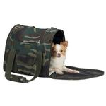 View Image 3 of Casual Canine Backpack Pet Carrier - Green Camo