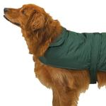 Casual Canine Barn Coats for Dogs - Hunter Green