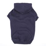 View Image 1 of Casual Canine Basic Dog Hoodie - Navy