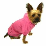 View Image 3 of Casual Canine Basic Dog Hoodie - Pink