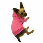 View Image 4 of Casual Canine Basic Dog Hoodie - Pink