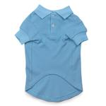 View Image 2 of Casual Canine Basic Polo Dog Shirt - Air Blue