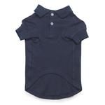 View Image 2 of Casual Canine Basic Polo Dog Shirt - Navy