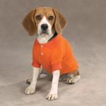 View Image 1 of Casual Canine Basic Polo Dog Shirt - Orange