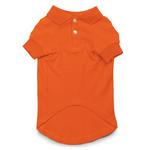 View Image 2 of Casual Canine Basic Polo Dog Shirt - Orange