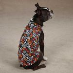 Bone Heads Dog Tank - Orange