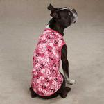 Bone Heads Dog Tank - Pink