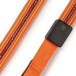 View Image 4 of Fluorescent LED Dog Leash - Orange