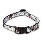 Casual Canine Fright Nite Dog Collar - Spiders