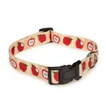 Casual Canine Harvest Dog Collar - Apples