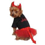 Casual Canine Lil Devil Dog Skirt Set