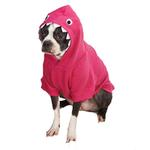 View Image 1 of Casual Canine Lil' Monster Dog Hoodie - Raspberry