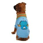 View Image 1 of Casual Canine Lil Monster Dog Sweater - Blue
