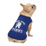 View Image 2 of Casual Canine Mind Your Mummy Dog T-Shirt - Blue
