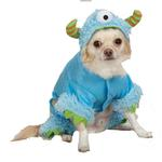 Casual Canine Monster Paws Dog Costume - Blue