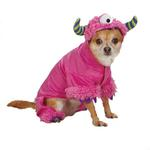 View Image 1 of Casual Canine Monster Paws Dog Costume - Pink