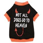 View Image 2 of Casual Canine Not All Dogs Go to Heaven T-Shirt