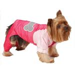 View Image 3 of Casual Canine Nylon Snow Dog Parka - Raspberry