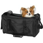 View Image 1 of Casual Canine Pet Duffle Bag - Black