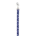View Image 1 of Casual Canine Pooch Pattern Dog Leash - Blue Bone