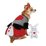 View Image 1 of Casual Canine Queen of Hearts Dog Costume