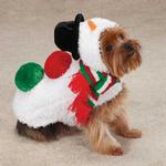 View Image 1 of Snowman Dog Jacket