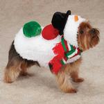 View Image 2 of Snowman Dog Jacket