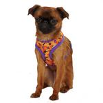 Casual Canine Spooky Dog Harness - Orange and Purple