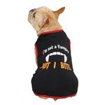 Casual Canine Vampire Dog T-Shirt - Black