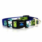 View Image 2 of X-treme Game Over Dog Collar - Blue