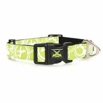 View Image 2 of Xtrm Logo Dog Collar - Green