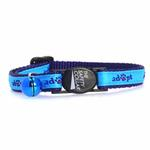 View Image 2 of Casual Kitty Adopt Cat Collar - Blue