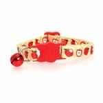 View Image 2 of Casual Kitty Harvest Cat Collar - Apples