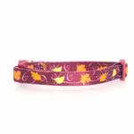 Casual Kitty Harvest Cat Collar - Leaves
