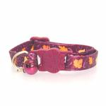 View Image 2 of Casual Kitty Harvest Cat Collar - Leaves