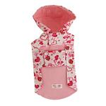 View Image 2 of Charlotte Hearts Dog Raincoat