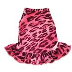 View Image 1 of Cheetah Dog Dress - Pink