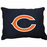View Image 1 of Chicago Bears Dog Bed