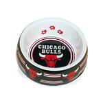 Chicago Bulls Plastic Dog Bowl