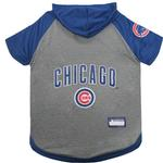 Chicago Cubs Hooded Dog T-Shirt